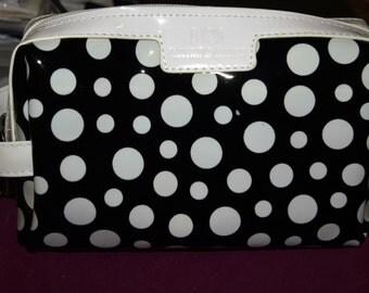 Black and White Dotty Wash Bag