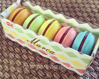 Macaron erasers
