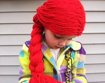 Jessie Wig, Kids costumes, Jessie costume, Halloween costume, Kids wigs, Costume Hair, childrens costume, Jessie Toy Story, Girls costumes