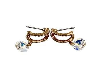Fashion citrine earrings