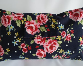 Floral nappy/diaper wallet