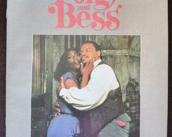 Porgy and Bess Theater Program   George Gershwin Musical Play   Northrop Auditorium Minneapolis, Minnesota 1987   Minnesota Orchestra
