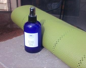 Energize yoga mat cleaner - Yoga Mat Cleanser - Yoga Mat Spritzer - Anitbacterial Spray - Energizing Spray