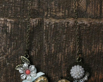 """18"""" Vintage Style Mixed Necklace"""