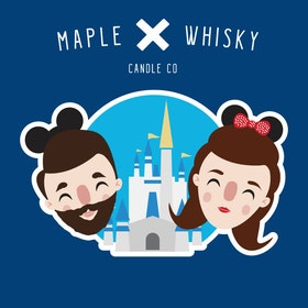 maple and whisky disney candles