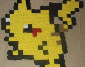 Pikachu Pokemon Rug, Wall Hanging or Lap Blanket!
