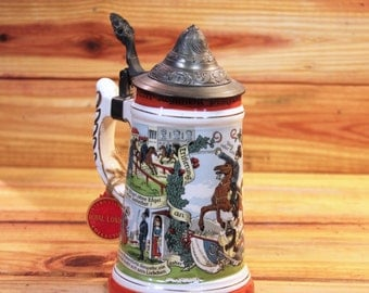 Musical Beer Stein Royal London.  Box 116