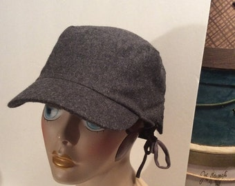 50% Off Sale Vintage D&Y Gray Newsboy/Hunting Cabbie Driving Cap Hat