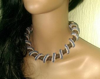 Cellini Spiral Necklace