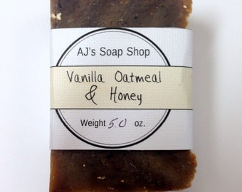 Vanilla Oatmeal & Honey Soap