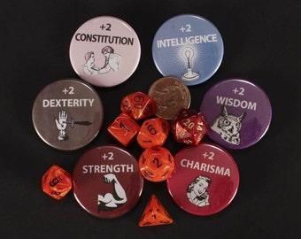 D & D Buttons