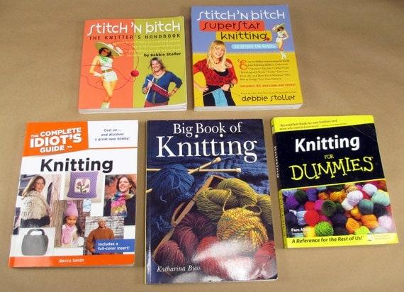 5 livres de patron tricot point n bitch guide de lidiot. Black Bedroom Furniture Sets. Home Design Ideas
