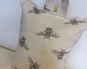 Bee Design Doorstop, Fabric Doorstop, Door Stop