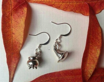 Silver Witchy Earrings