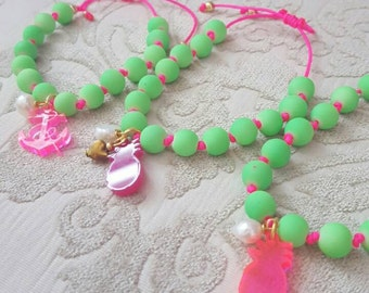 Bright summer bracelets