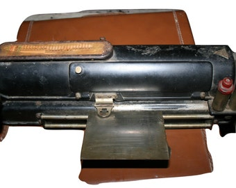 Antique Protectograph Check Writer Printing Machine