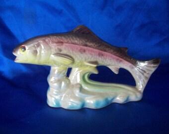 Porcelain Trout Luster Coloured Glaze