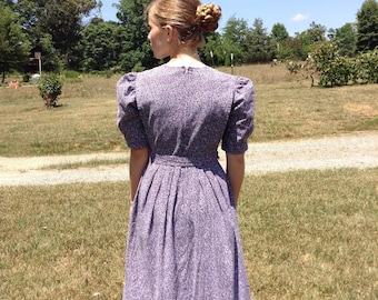 Modest Mennonite Cape Dress Custom Fabric Option