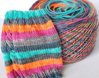 Hand Dyed Self Striping Yarn - Michonne