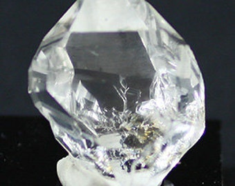 Water-clear 'Herkimer Diamond' doubly-terminated Quartz crystal, New York - Mineral Specimen for Sale