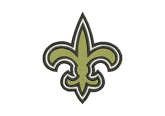 Embroidery Design New Orleans Saints Logo Instant Download