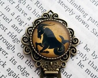 Zodiac Capricorn Bookmark