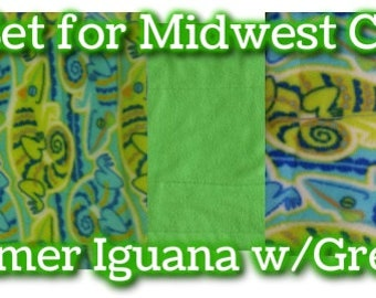 Fleece Pee Pads High Quality set for Midwest Guinea Cages PLEASE Purchase on Amazon.