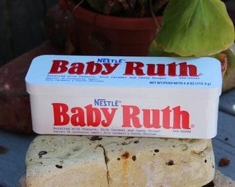 Cute little Baby Ruth tin.