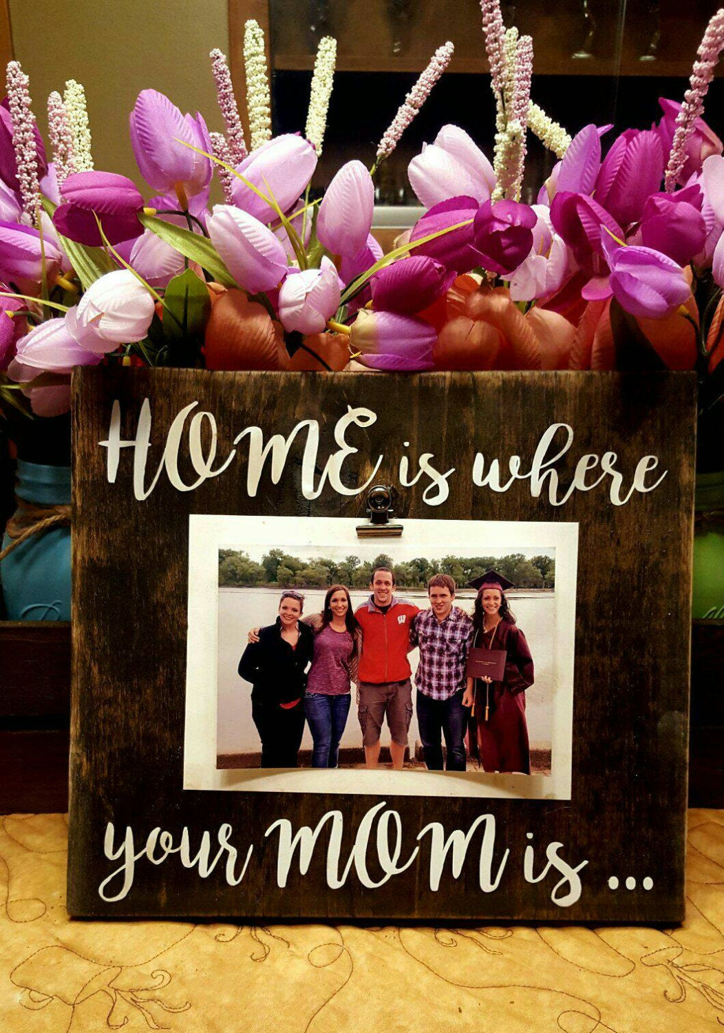 Mommy Frames: Mother Picture Frame Home Is Where Your Mom Is