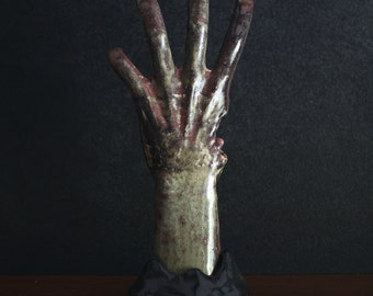 Left 4 Dead Zombie Hand Ceramic Sculpture