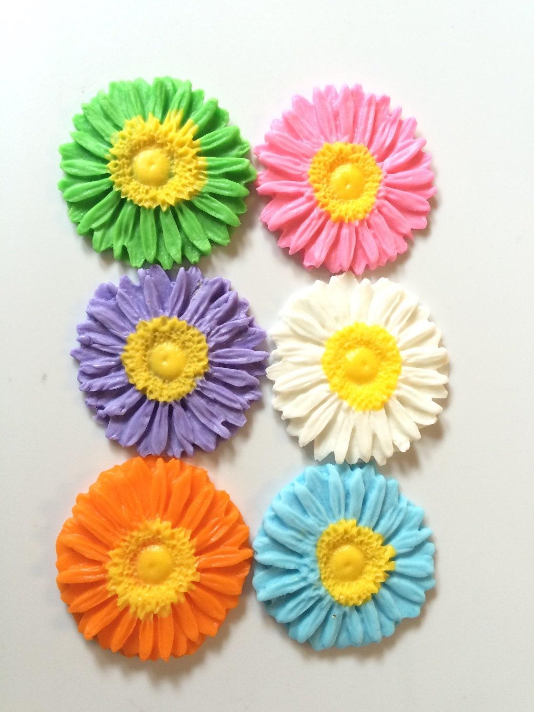Daisy Fondant Flowers Gallery Flower Wallpaper Hd