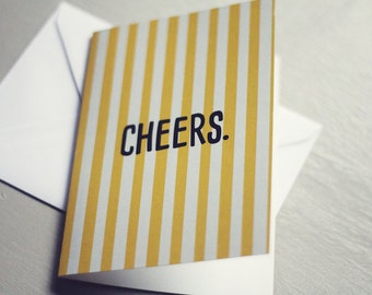 Cheers | Card