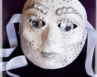 Diamond (decorative) mask - SALE