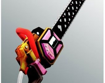 Handmade Custom Lollipop Chainsaw Prop