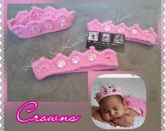 Crochet diamond Crown