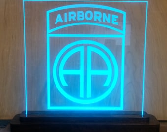 Edge Lit Acrylic, Military Crests, Team Logos and more