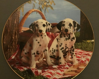 """REDUCED Hamilton Collection """"Here's a Good Spot"""" collector plate"""