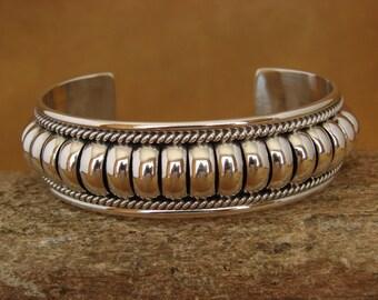 Silver bracelet navajo