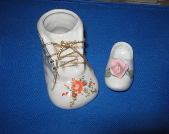2 Porcelain Shoes very nice