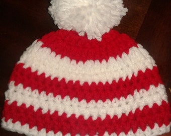 Stripped Christmas Beanie