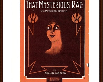 That Mysterious Rag by Berlin & Snyder from the book Memory Lane