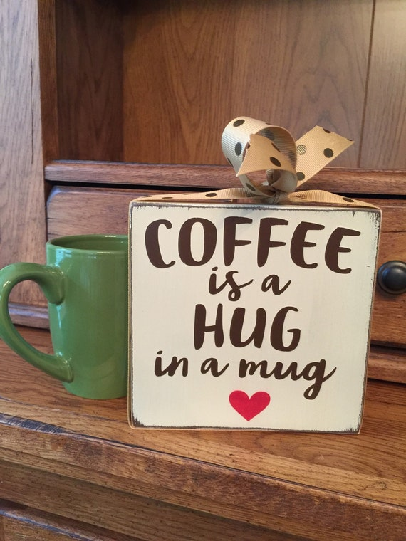 Coffee sign coffee bar decor coffee lover by heartfeltbydonna Gifts for kitchen lovers