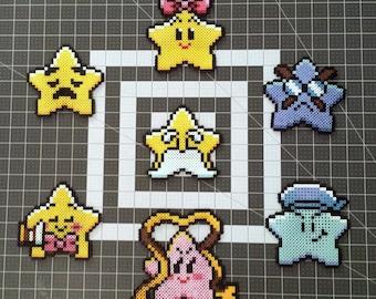 Custom Paper Mario Star Spirit Perler Bead Sprites Nintendo