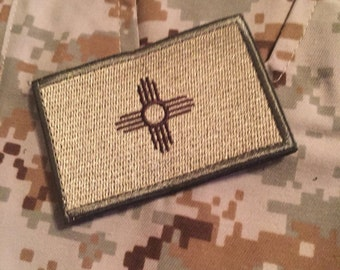 New Mexico Velcro Patch (P76)