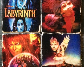 Labyrinth Tile Coaster or Decor Accent