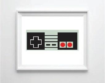 NES controller print
