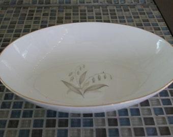 Kayson's, Golden Rhapsody, 10 inch oval bowl