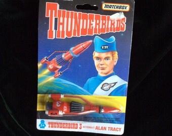 Matchbox Thunderbirds 3 Astronaut Alan Tracy New Oldstock Unopened Toy Rocket