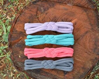 Celtic Knot Headband - Newborn Headband - Braided Headband - Headband - Sailor Knot Headband - knotted headband - Top Knot - Knot Headbands