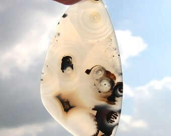Rare Unique Madagascar Agate - The firmament of the morning ocean